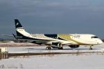 セブンさんが、新千歳空港で撮影したグァンフィ ERJ-190-100 ECJ (Lineage 1000)の航空フォト(飛行機 写真・画像)