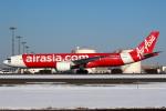 セブンさんが、新千歳空港で撮影したタイ・エアアジア・エックス A330-941の航空フォト(飛行機 写真・画像)