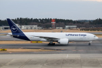 kuraykiさんが、成田国際空港で撮影したルフトハンザ・カーゴ 777-FBTの航空フォト(飛行機 写真・画像)
