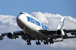 SGR RT 改さんが、成田国際空港で撮影したウエスタン・グローバル・エアラインズ 747-446(BCF)の航空フォト(飛行機 写真・画像)