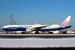 セブンさんが、新千歳空港で撮影したチャイナエアライン 777-309/ERの航空フォト(飛行機 写真・画像)