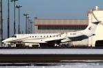 セブンさんが、新千歳空港で撮影した東方公務航空 EMB-135BJ Legacy 650の航空フォト(飛行機 写真・画像)
