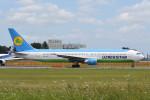 kuro2059さんが、成田国際空港で撮影したウズベキスタン航空 767-33P/ERの航空フォト(飛行機 写真・画像)