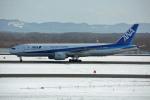 ktaroさんが、新千歳空港で撮影した全日空 777-281の航空フォト(飛行機 写真・画像)