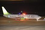 flyflygoさんが、鹿児島空港で撮影したソラシド エア 737-881の航空フォト(飛行機 写真・画像)