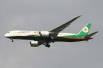 BTYUTAさんが、スワンナプーム国際空港で撮影したエバー航空 787-9の航空フォト(飛行機 写真・画像)