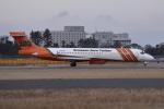 N.Tさんが、成田国際空港で撮影したエリクソン・エアロ・タンカー MD-87 (DC-9-87)の航空フォト(飛行機 写真・画像)