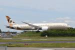 kuro2059さんが、成田国際空港で撮影したエティハド航空 787-9の航空フォト(飛行機 写真・画像)