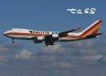 tassさんが、成田国際空港で撮影したカリッタ エア 747-4B5F/SCDの航空フォト(飛行機 写真・画像)