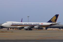 た~きゅんさんが、関西国際空港で撮影したシンガポール航空カーゴ 747-412F/SCDの航空フォト(飛行機 写真・画像)