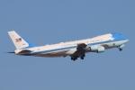 キャスバルさんが、フェニックス・スカイハーバー国際空港で撮影したアメリカ空軍 VC-25A (747-2G4B)の航空フォト(飛行機 写真・画像)