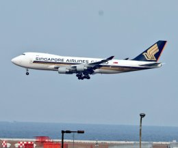nagareboshiさんが、関西国際空港で撮影したシンガポール航空カーゴの航空フォト(飛行機 写真・画像)