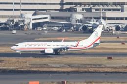 サリーちゃんのパパさんが、羽田空港で撮影したポーランド政府 737-86Xの航空フォト(飛行機 写真・画像)