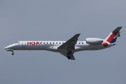 Sharp Fukudaさんが、パリ オルリー空港で撮影したエールフランス・オップ! ERJ-145EPの航空フォト(飛行機 写真・画像)