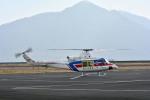 Gambardierさんが、岡南飛行場で撮影した国土交通省 地方整備局 412EPの航空フォト(飛行機 写真・画像)