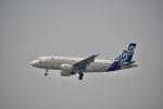 チョロ太さんが、スワンナプーム国際空港で撮影したカンボジア・エアウェイズ A319-112の航空フォト(飛行機 写真・画像)