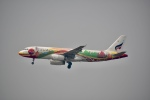 チョロ太さんが、スワンナプーム国際空港で撮影したバンコクエアウェイズ A320-232の航空フォト(飛行機 写真・画像)