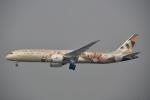 チョロ太さんが、スワンナプーム国際空港で撮影したエティハド航空 787-9の航空フォト(飛行機 写真・画像)