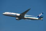 りおんさんが、羽田空港で撮影した全日空 787-9の航空フォト(飛行機 写真・画像)