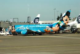 ITM58さんが、シアトル タコマ国際空港で撮影したアラスカ航空 737-4Q8の航空フォト(飛行機 写真・画像)