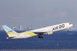kikiさんが、羽田空港で撮影したAIR DO 767-381/ERの航空フォト(飛行機 写真・画像)