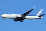 まえちんさんが、成田国際空港で撮影した全日空 767-381/ERの航空フォト(飛行機 写真・画像)