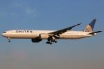 まえちんさんが、成田国際空港で撮影したユナイテッド航空 777-322/ERの航空フォト(飛行機 写真・画像)