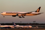 まえちんさんが、成田国際空港で撮影したシンガポール航空 777-312/ERの航空フォト(飛行機 写真・画像)