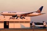 まえちんさんが、成田国際空港で撮影したユナイテッド航空 777-222/ERの航空フォト(飛行機 写真・画像)