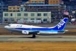 ちっとろむさんが、福岡空港で撮影したANAウイングス 737-5L9の航空フォト(飛行機 写真・画像)