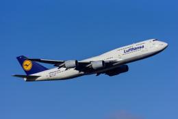 航空フォト:D-ABYF ルフトハンザドイツ航空 747-8
