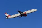 Frankspotterさんが、フランクフルト国際空港で撮影したオーストリア航空 A321-111の航空フォト(飛行機 写真・画像)