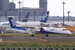 Mr.boneさんが、成田国際空港で撮影した全日空 DHC-8-402Q Dash 8の航空フォト(飛行機 写真・画像)
