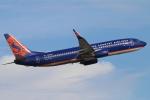 キャスバルさんが、フェニックス・スカイハーバー国際空港で撮影したサンカントリー・エアラインズ 737-8F2の航空フォト(飛行機 写真・画像)