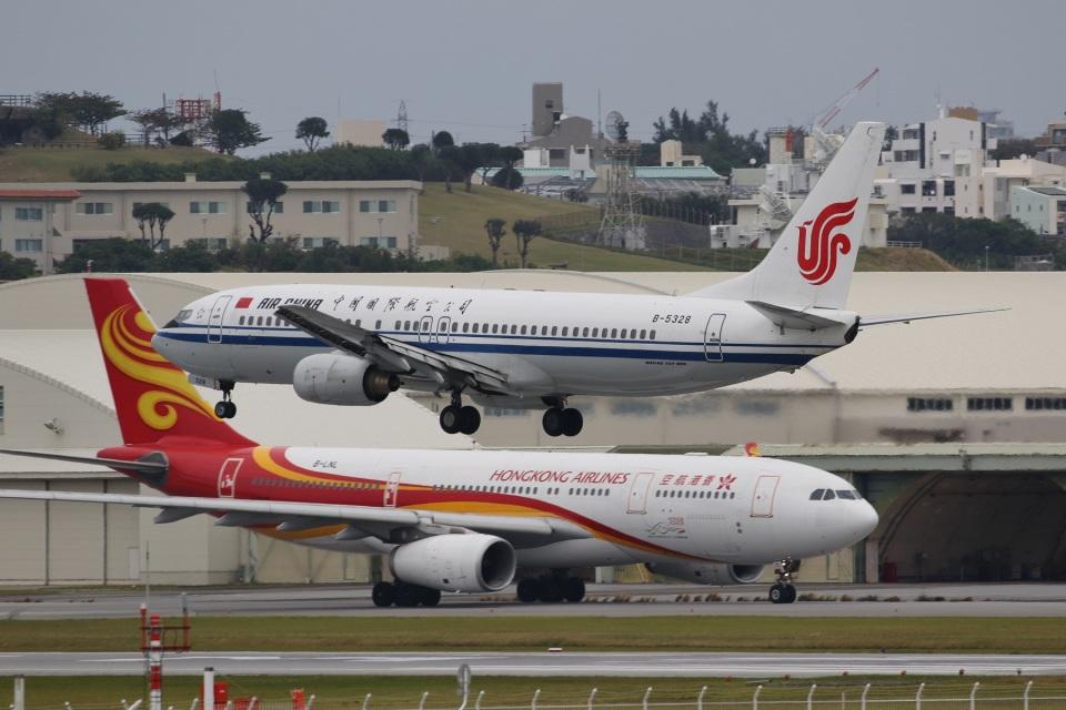 camelliaさんの中国国際航空 Boeing 737-800 (B-5328) 航空フォト