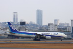 khideさんが、伊丹空港で撮影した全日空 777-281/ERの航空フォト(飛行機 写真・画像)