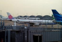 KAZKAZさんが、香港国際空港で撮影したチャイナエアライン A330-302の航空フォト(飛行機 写真・画像)