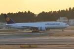 rokko2000さんが、成田国際空港で撮影したルフトハンザ・カーゴ 777-FBTの航空フォト(飛行機 写真・画像)