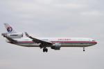 senyoさんが、成田国際空港で撮影した中国東方航空 MD-11Fの航空フォト(飛行機 写真・画像)