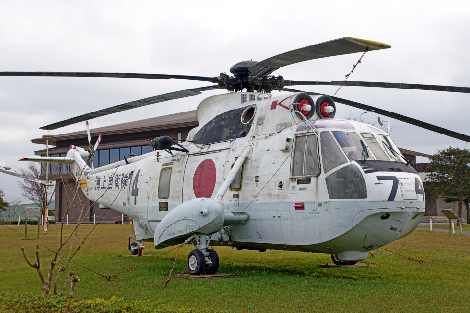 ちゃぽんさんの海上自衛隊 Mitsubishi S-61 (8074) 航空フォト