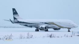 うみBOSEさんが、新千歳空港で撮影したグァンフィ ERJ-190-100 ECJ (Lineage 1000)の航空フォト(飛行機 写真・画像)
