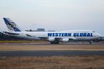 renseiさんが、成田国際空港で撮影したウエスタン・グローバル・エアラインズ 747-446(BCF)の航空フォト(飛行機 写真・画像)