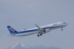 kitayocchiさんが、新千歳空港で撮影した全日空 A321-272Nの航空フォト(飛行機 写真・画像)