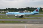アイスコーヒーさんが、成田国際空港で撮影した大韓航空 747-4B5の航空フォト(写真)