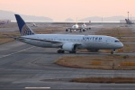 つっさんさんが、関西国際空港で撮影したユナイテッド航空 787-8 Dreamlinerの航空フォト(飛行機 写真・画像)