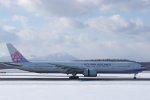 kitayocchiさんが、新千歳空港で撮影したチャイナエアライン 777-309/ERの航空フォト(飛行機 写真・画像)