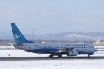 kitayocchiさんが、新千歳空港で撮影した厦門航空 737-8FHの航空フォト(飛行機 写真・画像)