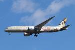 mogusaenさんが、成田国際空港で撮影したエティハド航空 787-9の航空フォト(飛行機 写真・画像)