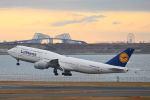 シグナス021さんが、羽田空港で撮影したルフトハンザドイツ航空 747-830の航空フォト(飛行機 写真・画像)