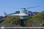 apphgさんが、静岡ヘリポートで撮影したアカギヘリコプター AS350B2 Ecureuilの航空フォト(飛行機 写真・画像)